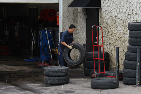 Nitrogen Tire Inflation Raleigh