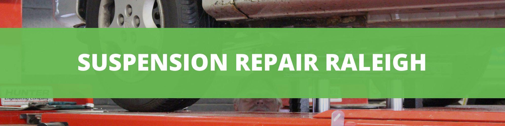 suspension repair raleigh